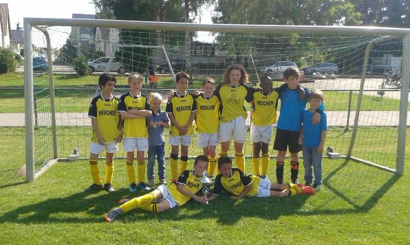 Eine erfolgreiche Saison für die E1. Zweiter Platz in Dettenheim nach einer überzeugenden Rückrunde